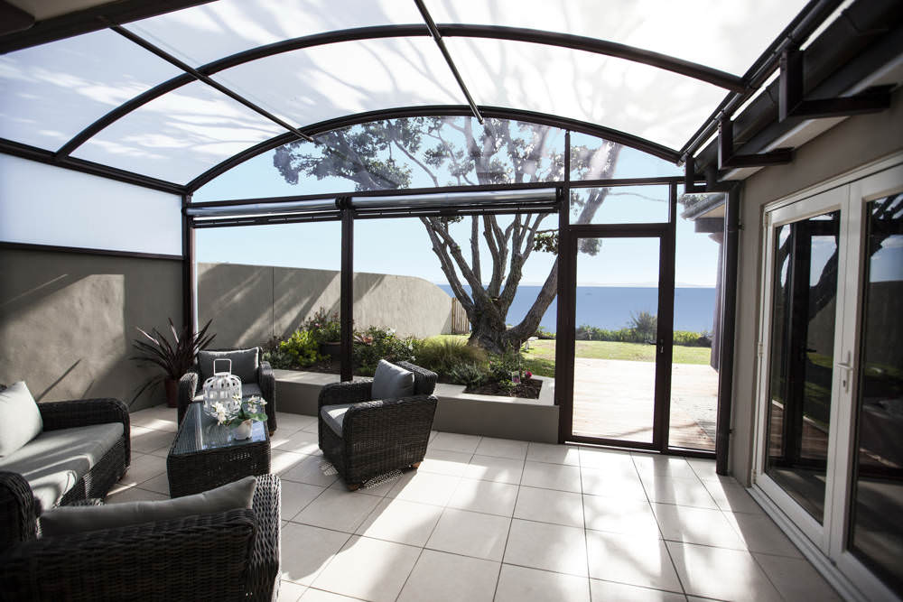 outdoor area after installing a fresco canopy