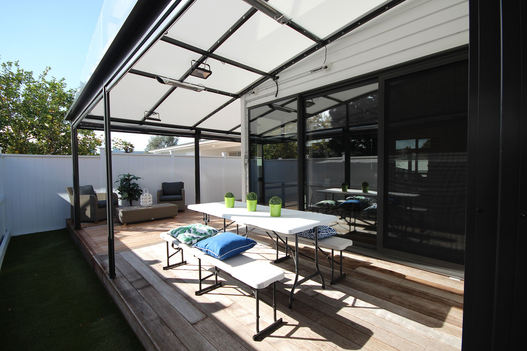 The Power of PVC: Choosing Your Awning Fabric