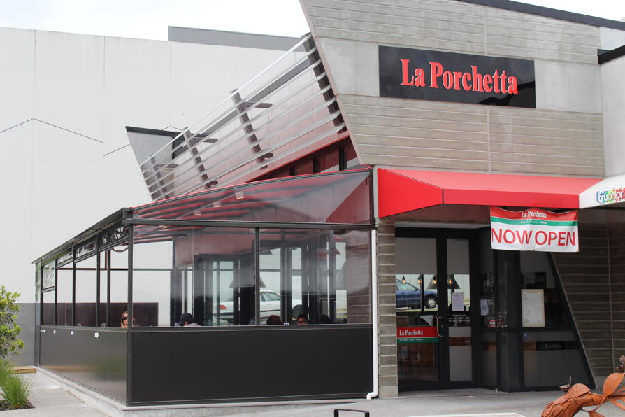 La Porchetta Canopy by Fresco Shades