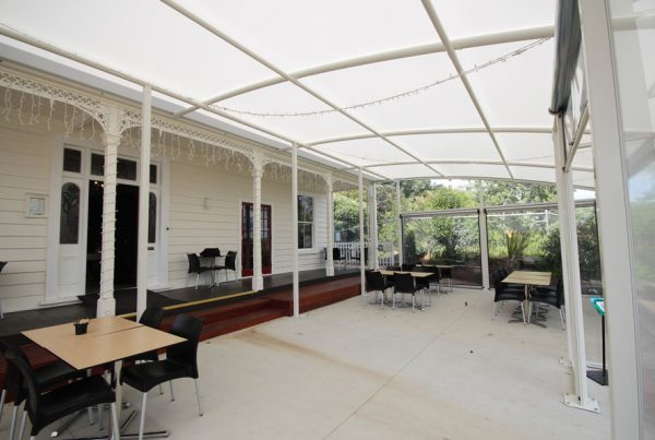 Motat Cafe Canopy by Fresco Shades