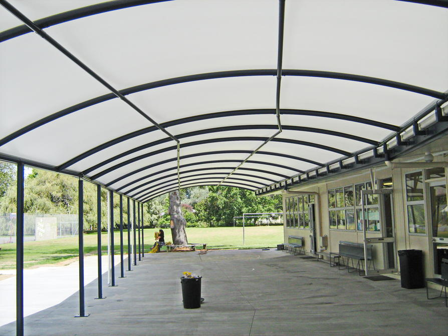 SDA School Canopy by Fresco Shades