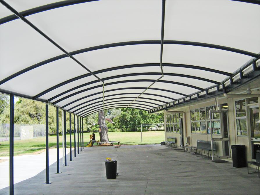 SDA School Canopy by Fresco Shades