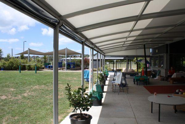 Silverdale Kindergarten Canopy by Fresco Shades